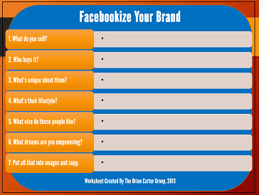 facebookize your brand