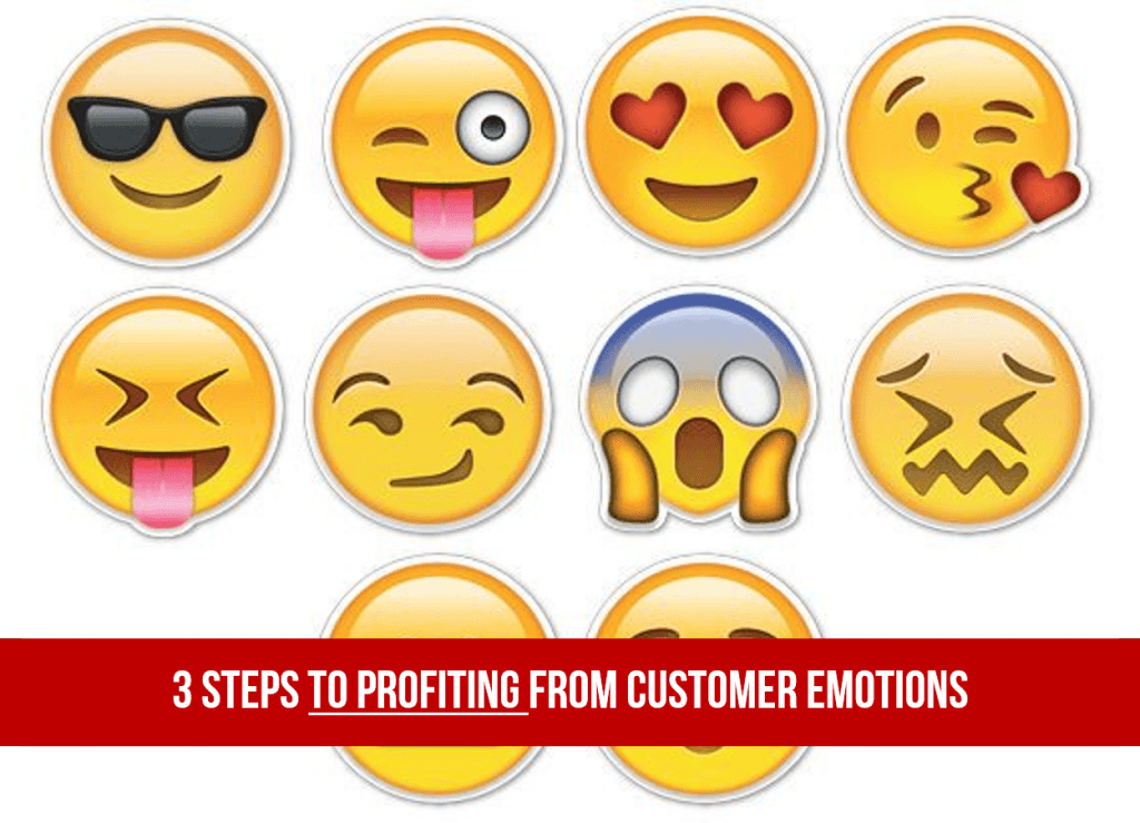 3 Steps to Profiting From Customer Emotions
